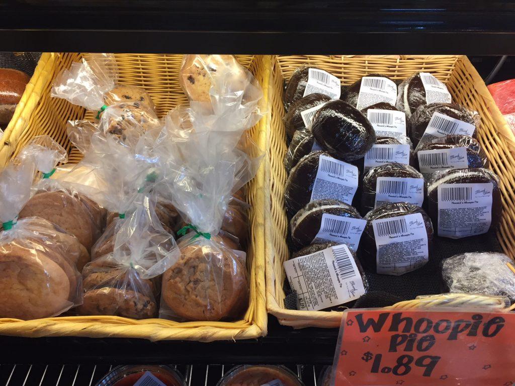 fair trade coffee and snacks